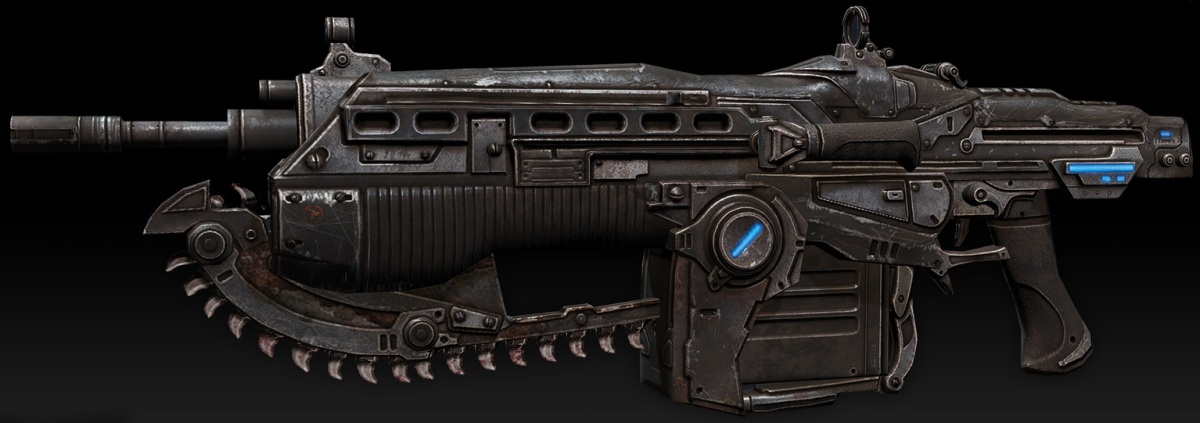 Gears of War 3:The Anatomy of a Lancer