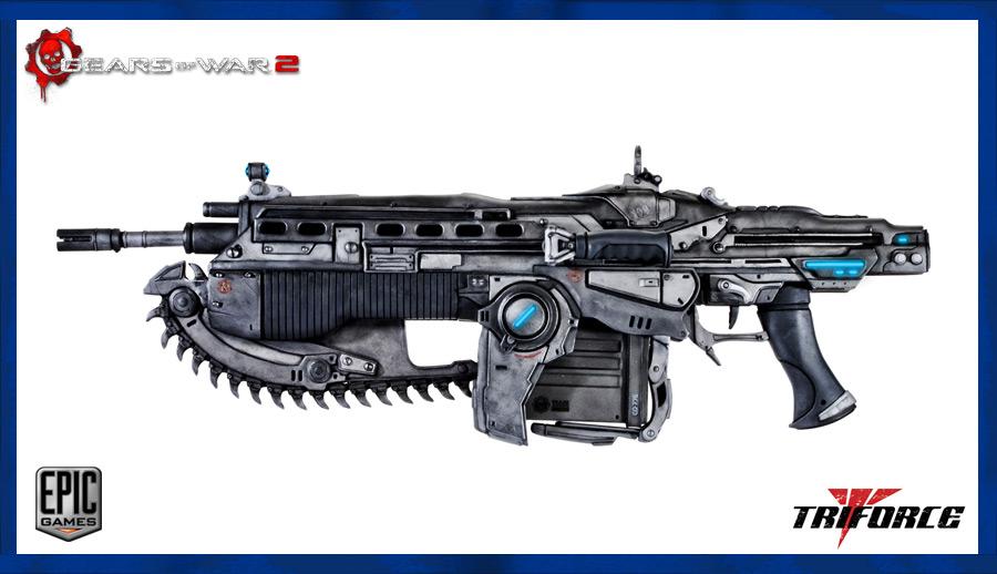 Lancer Assault Rifle by OutcastOne on DeviantArt