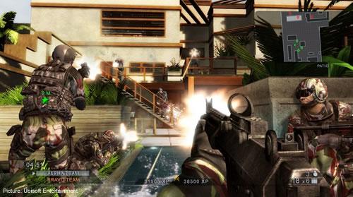 Rainbow Six Vegas 2 Terrorist Hunting
