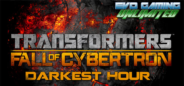 "Fall of Cybertron "" Darkest Hour"" tournament announcement"